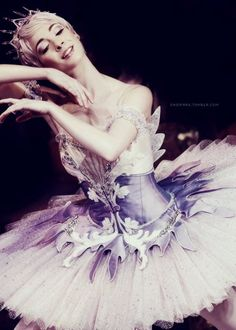 Lilac tutu, Sleeping Beauty. Russian Ballet. I love this tutu!!