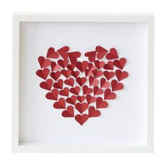 Heart of Hearts Paper Wall Art
