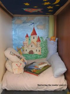 Nurturing the tender years: Creating a reading nook (or Book Nook as Rylan calls it)