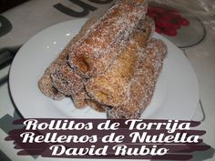 Nutella, Relleno, French Toast, Chocolate, Breakfast, Food, Ideas, Wraps, Sweets