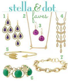 Stella & Dot Faves #jewelry #stelladot #fashion http://www.stelladot.com/sites/randihom