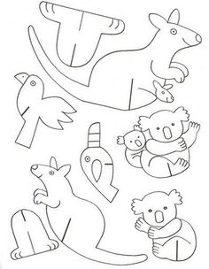 Origami for kids animals coloring pages 46 Ideas Paper Animal Crafts, Animal Crafts For Kids, Art For Kids, Paper Crafts, Cardboard Animals, Paper Animals, Origami For Kids Animals, Animals For Kids, Kids Origami