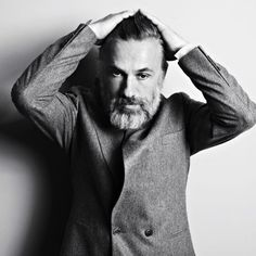 Christoph Waltz - the famous beard :)