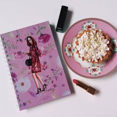 Gucci, fashion illustration. Notebook