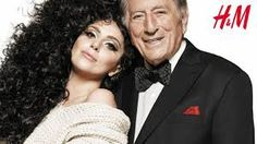 Lady Gaga E Tony Bennet insieme per la Christmas Collection H&M | DaringToDo.com