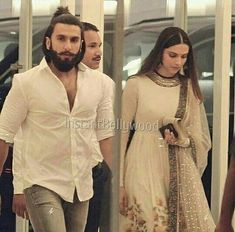 One of our favourite pic of stylish pair Ranveer & Deepika. Bollywood Couples, Bollywood Celebrities, Bollywood Fashion, Bollywood Actress, Bollywood Style, Indian Bollywood, Deepika Ranveer, Deepika Padukone Style, Ranveer Singh