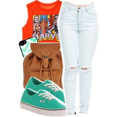 Untitled #200 by mb-misfit on Polyvore featuring polyvore fashion style Vans Jigsaw BackToSchool back2school