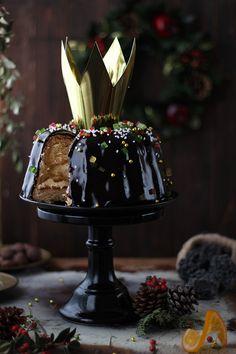 Merceditas Bakery: Roscón de Reyes fácil en bundt con glaseado espejo de chocolate