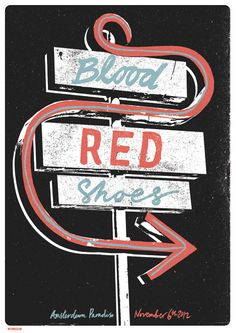 GigPosters.com - Blood Red Shoes