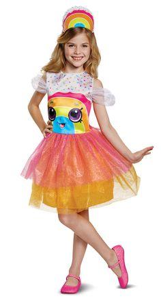 LOL Surprises Halloween Dress Tutu Costume Trick Or Treat Bag Size 7//8 White