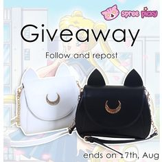 Join +SpreePicky NEW #Luna #Artemis   #Bag   #Giveaway  Click here to join :http://goo.gl/aDfWMM        #spreepicky #spreepickygiveaway #giveaway #splunaartemisgiveaway #lunabag #artemisbag #sailormoonbag #bag   #baggiveaway