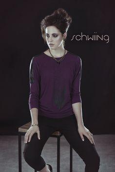 SALLY - PRUNE www.schwiing.net Sally, Fashion Forward, Fall Winter 2014, In Trend