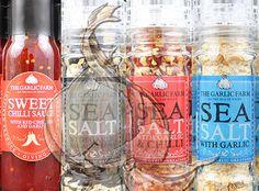 Isle of Wight Garlic Farm produce