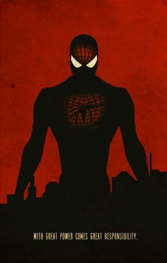 spiderman spider peter parker marvel superhero heroes Movies & TV @Displate.com