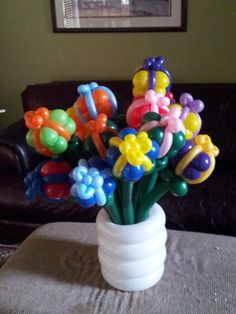 Birthday Presents Balloon Bouquet