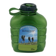 BPA Free Military Style Outdoor Camping Portable Drinking Water Bottle