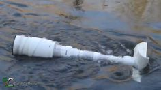 DIY Video : How to build a simple Homemade PVC Off grid River Pump to pump water from a river or creek