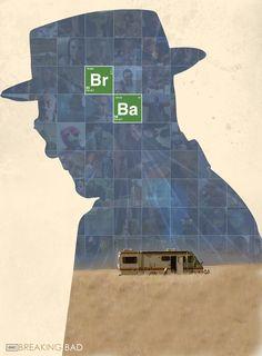 Br Ba by KlausHeissler on DeviantArt Affiche Breaking Bad, Serie Breaking Bad, Breaking Bad Poster, Best Series, Best Tv Shows, Tv Series, Breking Bad, Fanart, Graphic Artwork