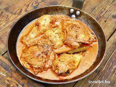 Fűszeres krémes sült csirke - Receptek | Ízes Élet - Gasztronómia a mindennapokra