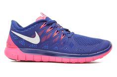 04ead11e08299 Nike Wmns Nike Free 5.0  14 - Buty sportowe Niebieski - Sarenza.pl (