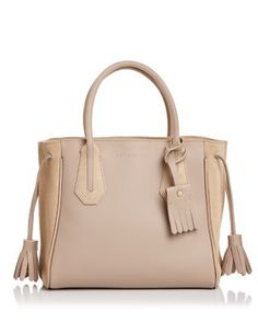 LONGCHAMP Penelope Fantaisie Small Leather Tote. #longchamp #bags #hand bags #suede #tote #