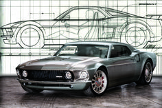 The Custom Mustang-GT40 Ford Mach 40