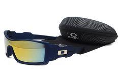 Oakley Fives Squared Crystal Black Frame Grey Lens Sunglasses