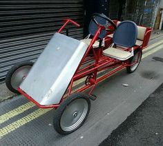 Adult pedal car build it yourself