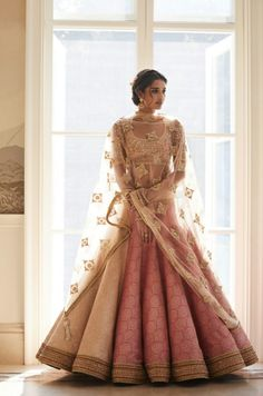 So pretty and sweet. Looks like a doll in pink Pose In Gorgeous Tarun Tahiliani Couture: WMG Red Carpet Bride Shoot in Delhi Indian Bridal Outfits, Indian Bridal Fashion, Indian Dresses, Bridal Dresses, Indian Bridal Wear, Indian Clothes, Indian Wedding Clothes, Best Indian Wedding Dresses, Indian Outfits Modern