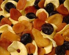 Apricots are perfect for dehydrating.