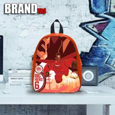 Big Hero Art Tokyo - Design variations School Bag School Backpacks 853f0240d4a4c