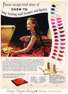06.14.10 {wild 1940s nail colors} by elegant musings, via Flickr