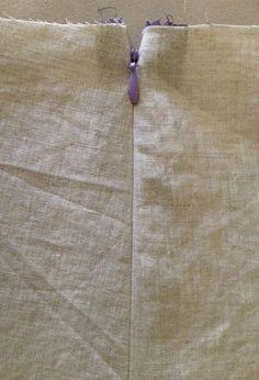 Sew Tessuti Blog - Sewing Tips & Tutorials - New Fabrics, Pattern Reviews: Side Invisible Zipper Tutorial