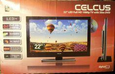 Celcus LED22S913 DVD FHD Televízió Hd 1080p, Tv, Television Set, Television