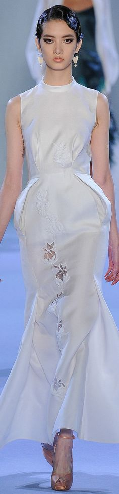 Ulyana Sergeenko Spring 2014 Couture jaglady