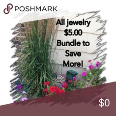 All jewelry $5.00 All jewelry is $5.0 each.  Bundle to save more. Other
