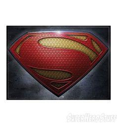 Superman Man of Steel Movie Symbol Magnet