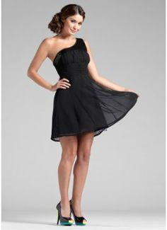 One-Shoulder-Kleid, BODYFLIRT