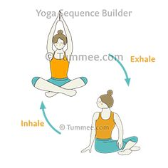39 best yoga sequences  how to plan yoga classes images