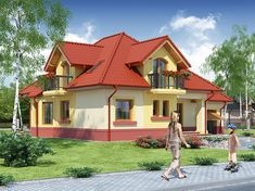 Home Building Design, Building A House, Home Fashion, Mansions, House Styles, Houses, Home Decor, Home Plans, Homes