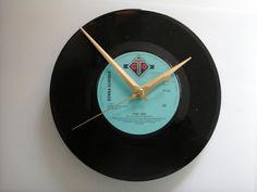 """Donna summer- I feel love     7"""" vinyl record clock  £7.99"""