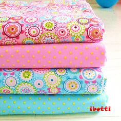 4pcs  40x50cm Floral Dots Cotton Fabric Bundle Quilting Patchwork Sewing Clothes Bedding Tissus Tilda Telas Costura Felt-in Fabric from Home & Garden on Aliexpress.com | Alibaba Group