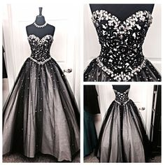 Nice Vintage Black Lace A Line Prom Wedding Formal Ball Gown 2017 Quinceanera Dresses Prom Dresses Check more at http://myclothestrend.com/product/vintage-black-lace-a-line-prom-wedding-formal-ball-gown-2017-quinceanera-dresses-prom-dresses/