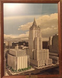 "Vintage 1950s Framed ""Home Office"" New York Life Insurance Company 27"" x 21""   eBay"
