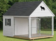 Awesome dog house for larger breads!