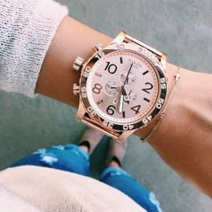 Rose Gold 51-30 Chrono by Nixon