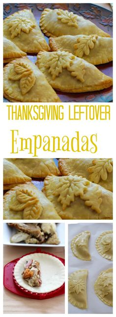 Thanksgiving leftover turkey, ham, or sides make delicious empanadas (hand pies) in minutes with any pie crust. Freeze empanadas for easy weeknight meals!