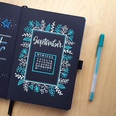 37 Amazing Ideas for Your Blackout Bullet Journal Bullet Journal Writing, Bullet Journal Themes, Bullet Journal Spread, Bullet Journal Inspiration, Bullet Journals, Journal Layout, Journal Pages, Journal Ideas, Journal Diary