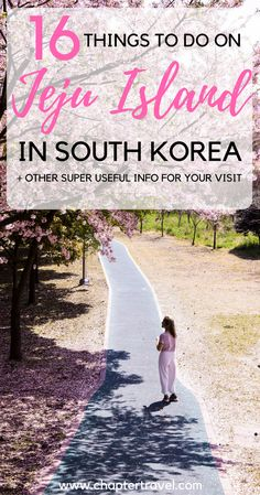 Jeju Island, South Korea | Things to do on Jeju Island | Mount Hallasan, Jeju Island | Hyeopjae Beach, Jeju Island | Seongsan Ilchulbong Peak, Jeju Island | Olle Trails, Jeju Island | Loveland, Jeju Island | Cherry Blossom, Jeju Island | Cherry Blossom, South Korea | Gimnyeong Maze Park, Jeju Island | Yeomiji Botanical Garden, Jeju Island | Waterfalls, Jeju Island | Jeju Folk Village Museum | Manjanggul Cave, Jeju Island | O'sulloc Museum, Jeju Island | Udo Island, Jeju Island | Korean Food…