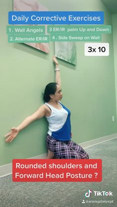 Pilates For Beginners, Gym Workout For Beginners, Fitness Workout For Women, Body Fitness, Pilates Video, Beginner Pilates, Pop Pilates, Pilates Yoga, Posture Correction Exercises